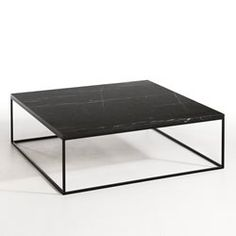 Jorge zalszupin enameled iron and marble coffee tables for Table basse dessus marbre