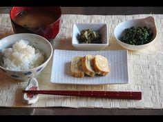 Breakfast Menu 1 - Japanese Cooking 101