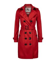 BURBERRY The Sandringham Long Cashmere Trench Coat. #burberry #cloth #