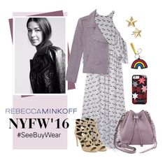 """#SeeBuyWear: Rebecca Minkoff NYFW Collection"" by polyvore-editorial ❤ liked on Polyvore featuring Rebecca Minkoff, women's clothing, women, female, woman, misses, juniors, seebuywear and rmspring"