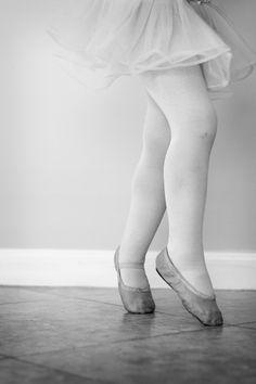 she loves her ballet...