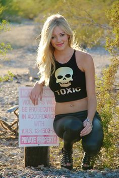 Most of us do not contain hazardous materials at all times, but we do every once and a while. Be sure to wear this tank if you're having a bad day or feeling like you need to blow off some steam. It would also be cool if you wore this tank while digging in a land mine or spraying bees with repell...
