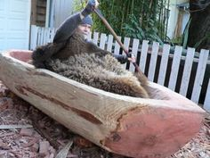 How to Make a Dugout Canoe