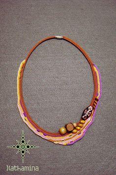 [Colar] C #25 | Colar em crochet. | *kathamina | Flickr