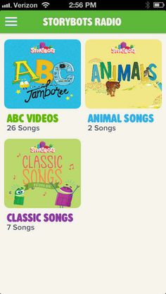StoryBots Radio app for kids