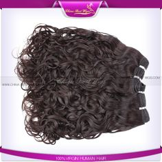 Natural looking curl pure virgin human hair makes you looks elegant, have yours today inbox: erica@chinabestwig.com