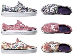 Liberty of London X Vans