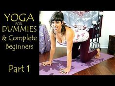 Yoga For Dummies & Complete Beginners Part 1 Relaxation & Flexibility Stretching At Home Workout - YouTube
