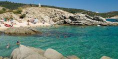 Sarti Beach auf Chalkidiki