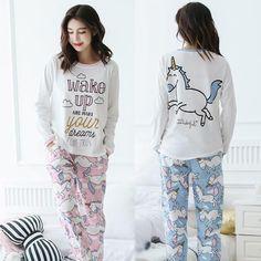 Moon and Back 2 Piece Long Sleeve Pajama Set Pajama-Sets Mixte Enfant