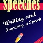 This PDF file has a number of pages dealing with creating a speech for public speaking.  Included are :   A) A Speech Outline   B) Speech Topics  C) Wr...