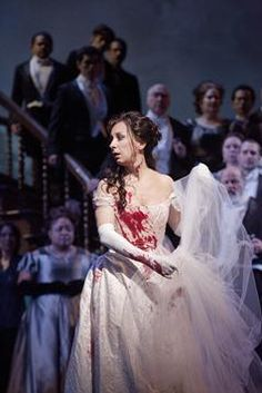 Coloratura Prima donna Natalie Dessay. Her soprano voice is to die for, and that top range!!