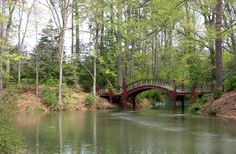 Even if it wasn't actually in Playboy, and despite the smell, the legend of the Crim Dell bridge makes this a great place for lovers. That, and the view is really nice when there aren't a bunch of tourists.