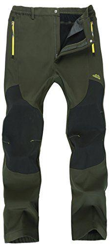 06ee703fe588 Amazing offer on Men s Outdoor Windproof Fleece Hiking Pants Quick-Dry  Mountain Pants(M01) online