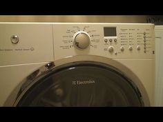 How To Clean an Electrolux Front Loading Washing Machine - YouTube