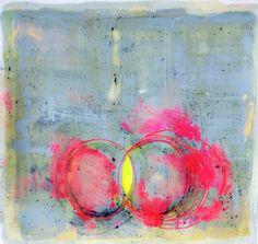 """Saatchi Art Artist: Helen dooley; Encaustic Wax 2013 Painting """"Drawings 8"""""""