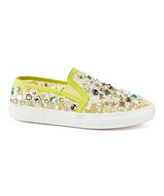 This Yellow Jewel Lifestyle Slip-On Sneaker by Henry Ferrera is perfect! #zulilyfinds