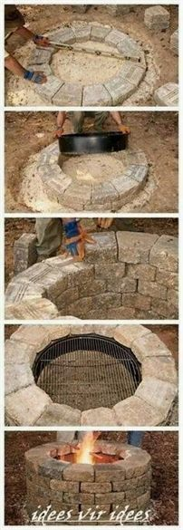 There are few things as relaxing as a warm fire on a cool evening. An outdoor fire pit makes any patio or backyard into a great gathering place where friends and ... #GardenIdeas