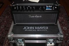 """Two Rock John Mayer Signature Amplifier w/ Roadcase and 2x12"""" Cabinet - SOLD.   The Fender Reissue Shop"""