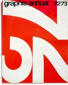 Graphis Annual Design by Massimo Vignelli. Poster Design, Graphic Design Layouts, Modern Graphic Design, Graphic Design Typography, Graphic Design Illustration, Graphic Design Inspiration, Book Design, Design Art, Print Design