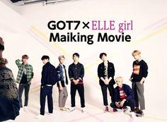【エル・ガール11月号掲載】GOT7撮影メイキング映像をこっそり公開❤ Got7, Behind The Scenes, Hot Guys, Youtube, Movies, Films, Cinema, Movie, Film