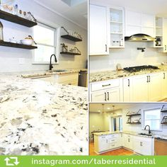 Take a look at this beautiful #Atlanta kitchen done by @taberresidential. #CliqStudios Austin style inset cabinets in painted White finish lend a welcoming classic feel to a modern space. Very well done!!