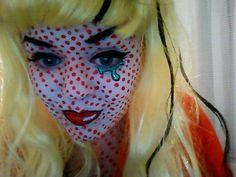 Lichtenstein Halloween Costume