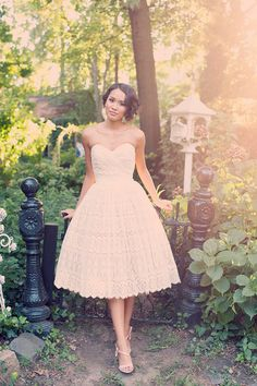 Beautiful dress from The Cotton Bride.