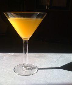Zinc's Orange Blossom Martini