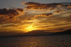 Beautiful sunset at our closest beach Waipuilani Beach Park which is a 5 minute walk from the house