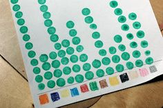 Crayon math! An easy way to explore  organizing, counting & graphing with preschoolers.