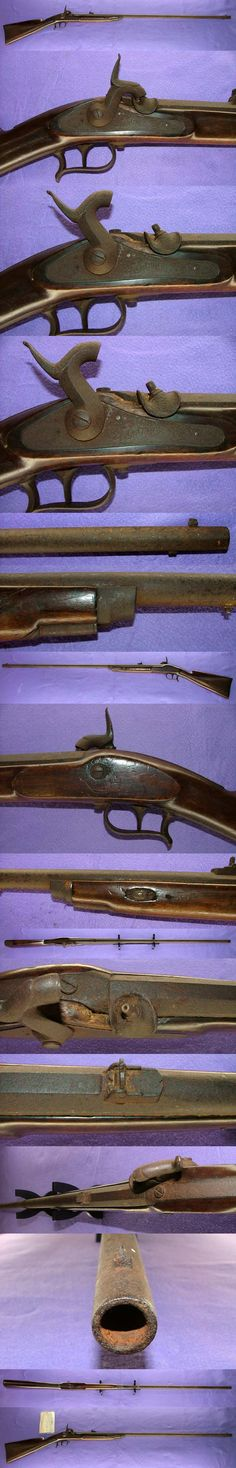 Swiss percussion shotgun, used by the samurai during the late Edo period.