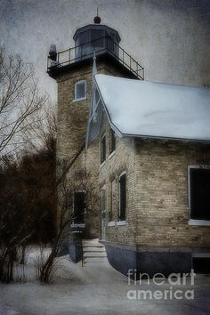 Eagle Bluff Light - Joan Carroll. To view or purchase my prints, canvases, cards or phone cases visit joan-carroll.artistwebsites.com THANKS!
