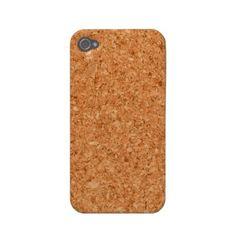 Zazzle Cork Case-mate Iphone 4 Cases
