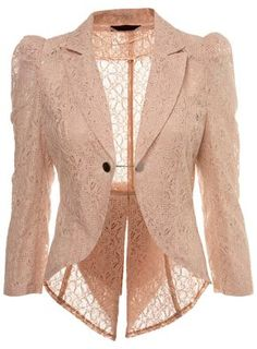 I wish I could wear blazers like these but my shoulders forbid it :'(