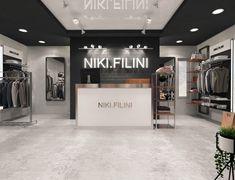 Дизайн проект магазина молодежной одежды NIKI FILINI - Галерея 3ddd.ru