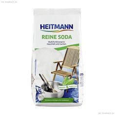 Heitmann Pure Soda 500g (ALD15): Amazon.de: Drogerie & Körperpflege