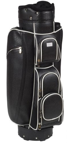 Venice Black Cutler Sports Ladies Golf Cart Bag available at Lori's Golf Shoppe Ladies Golf Bags, Golf Carts, Golf Tips, Sports Women, Venice, Stylish, Lady, Outdoors, Tees