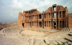 Fears for the future of the Roman theatre at Sabratha, one of the world's   finest relics of classical antiquity