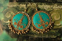 by the teal green sea  little india gypsy by jennifermorrisbeads
