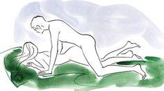 Pouso forçado - Melhores posições Kama Sutra