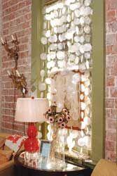 Capiz Shell Curtains Doorways
