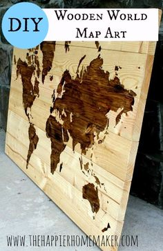 Repinned: Create your own unique Stained Wood Art with $10 in supplies and a little patience