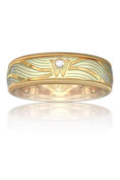 Wellendorff Genuine Delight Angel's Sheen Ring | Oster Jewelers #mybridalstyle #mydiamondstyle