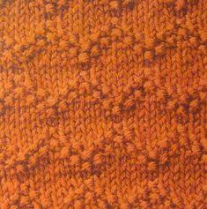 zigzag moss stitch