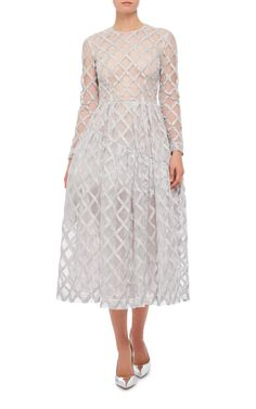 Long Sleeve Embellished Rope Dress by SIMONE ROCHA Now Available on Moda Operandi