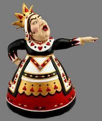 *THE QUEEN OF HEARTS ~ Teapot