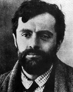 Amedeo Modigliani, 1919, near the end of his life.