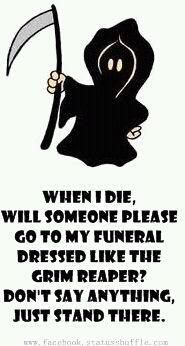 haha no really tho...that'd be sooo funny
