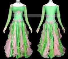 Custom-made ballroom dance dresses...IM A PRINCESS!!!